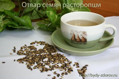 Расторопша. Лечение семенами расторопши